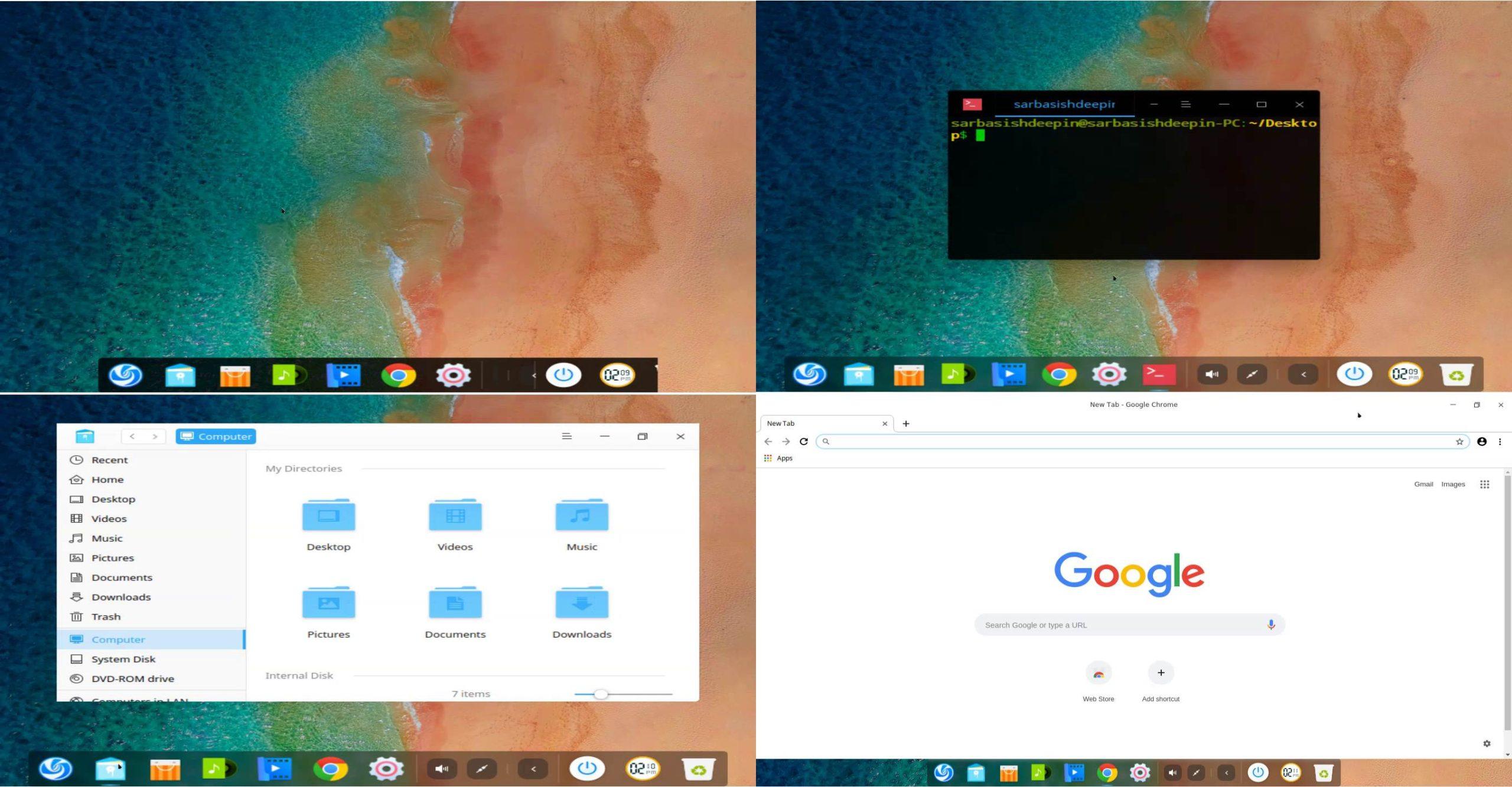 Deepin Linux installation 250 260 270 280