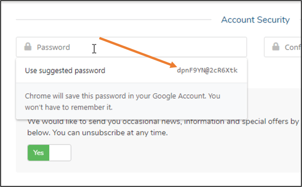 Google-Password-manager-to-create-password-on-Chrome-browser