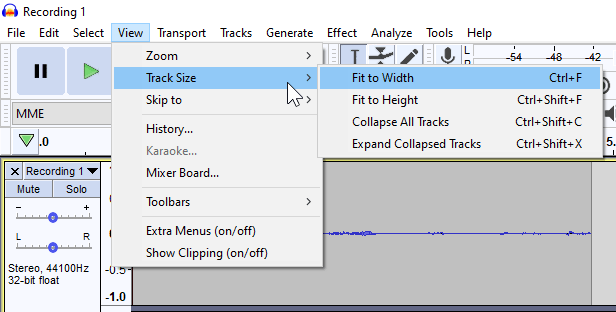 imported multiple audio files