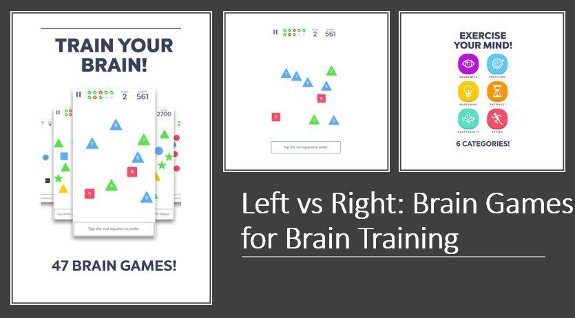 Left vs Right- Brain Games for Brain Training