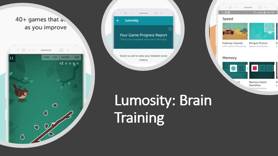 Lumosity Brain Training game app for Android