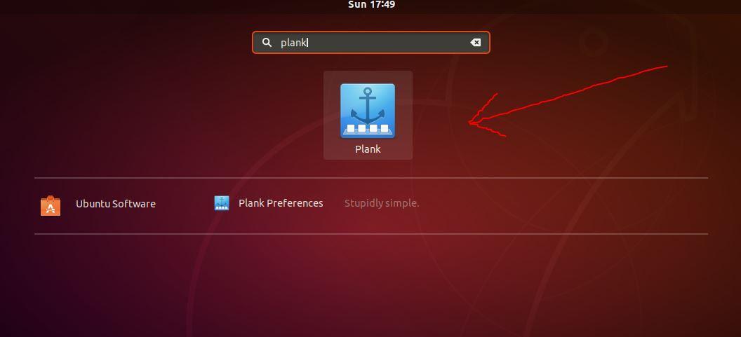 Plank dock ubuntu 18 or 19