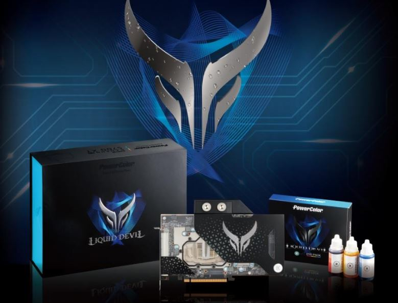 PowerColor Liquid Devil RX 5700 XT GPU