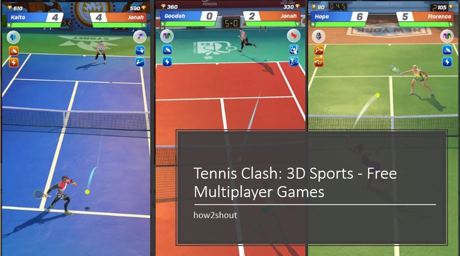 Tennis Clash 3D Sports – Free Multiplayer Games