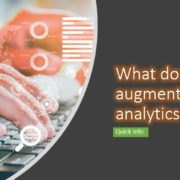 What does augmented analytics mean