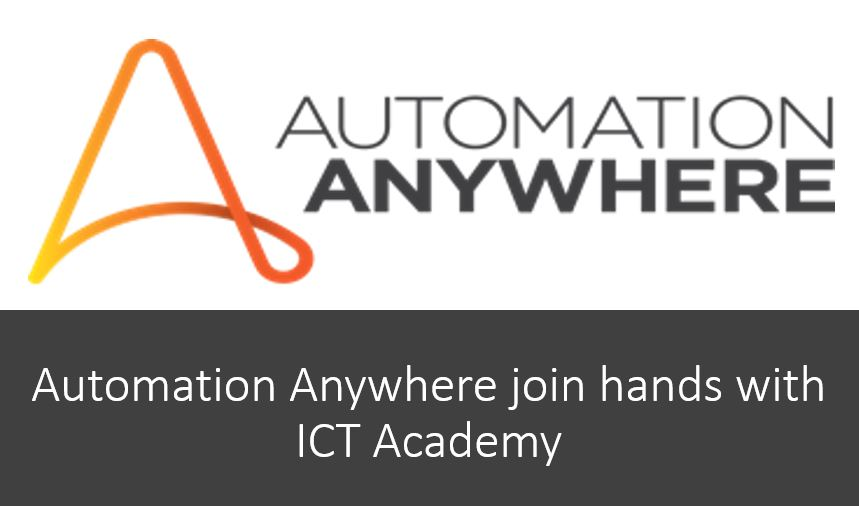Automation Anywhere join hands with ICT Academy