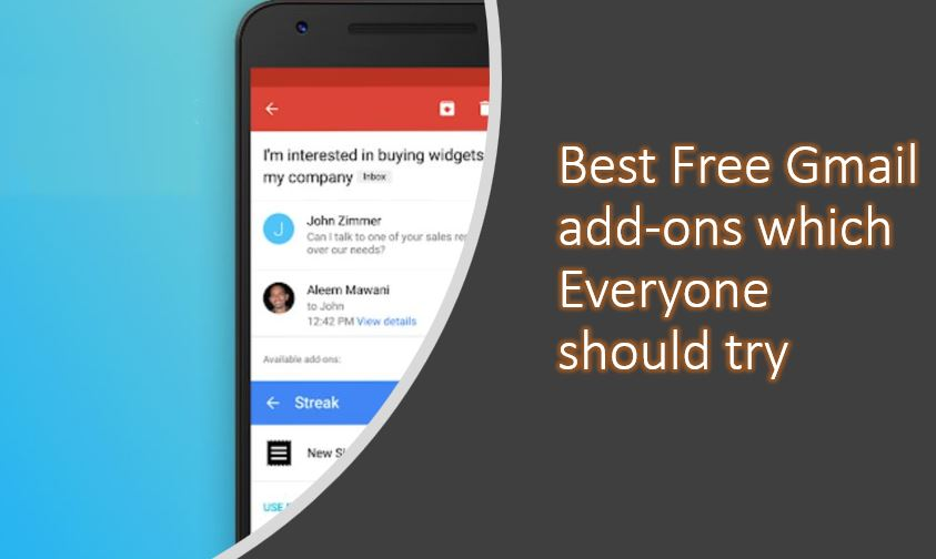 Best Free Gmail add-ons which Everyone should try