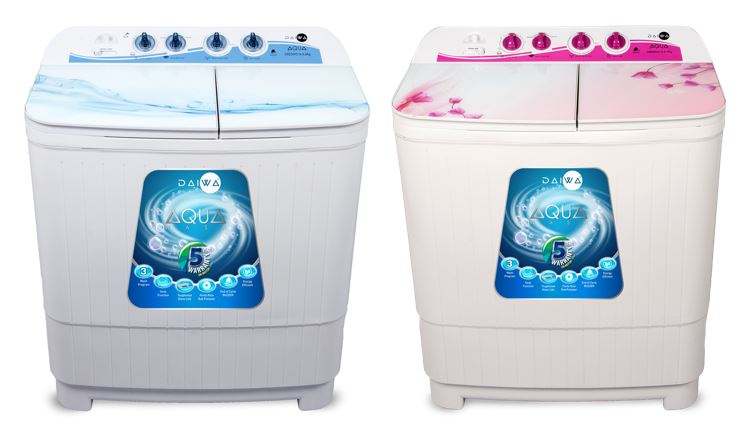 Daiwa Toughened Glass Washing Machines D86SWG19 & D82SWG19