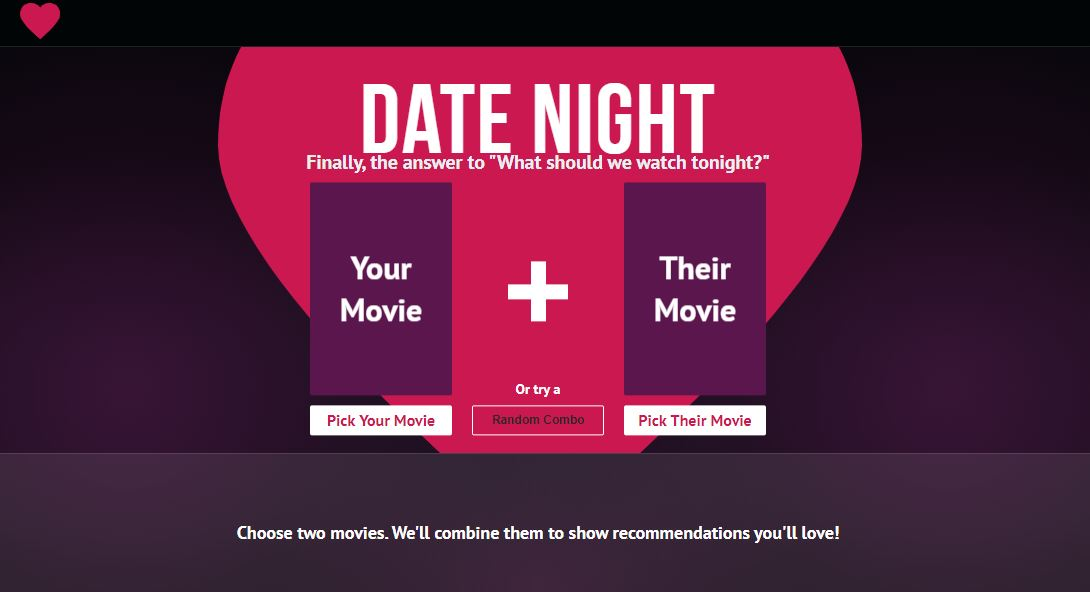 Date Night Movies search movies as per your partner's choice-min