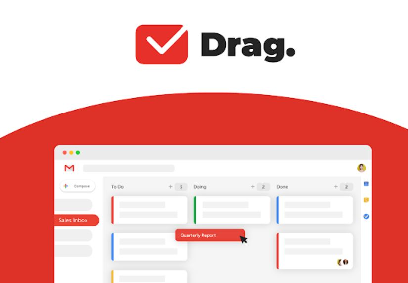 Drag App for Gmail
