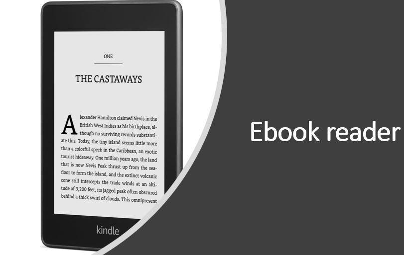 Ebook reader gift ideas for Christmas