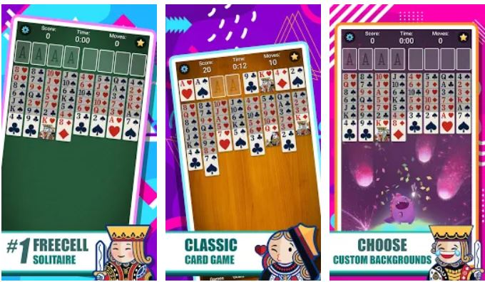 FreeCell Solitaire best card game for android