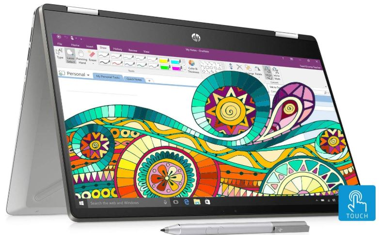HP Pavilion x360 Core i5 8th Gen best laptop for college students