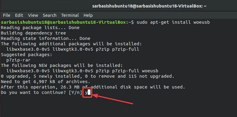 Run WoeUSB on Debian or Ubuntu