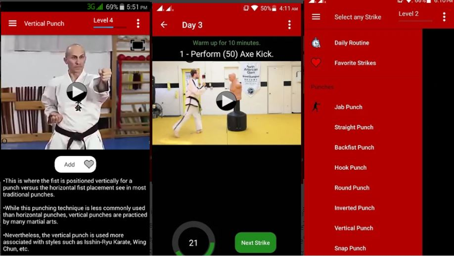 Karate Training – Offline Videos app for Android phone-min