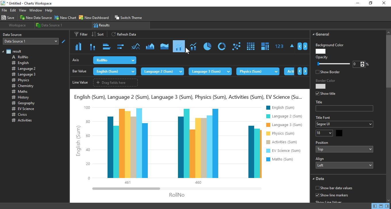 Navicat Premium 15 Data Visualization tool