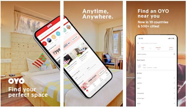 OYO Hotel Booking App