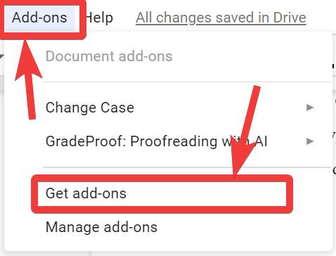 Removing all links from Google Docs