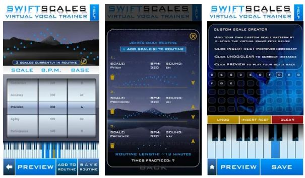 SWIFTSCALES – Vocal Trainer