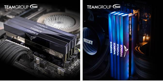 TEAMGROUP T-FORCE Releases Mirror Design XTREEM ARGB RAM