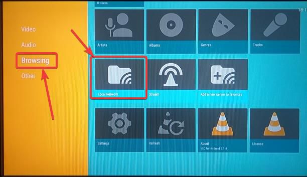 Browser local media files on Fire Stick 4K