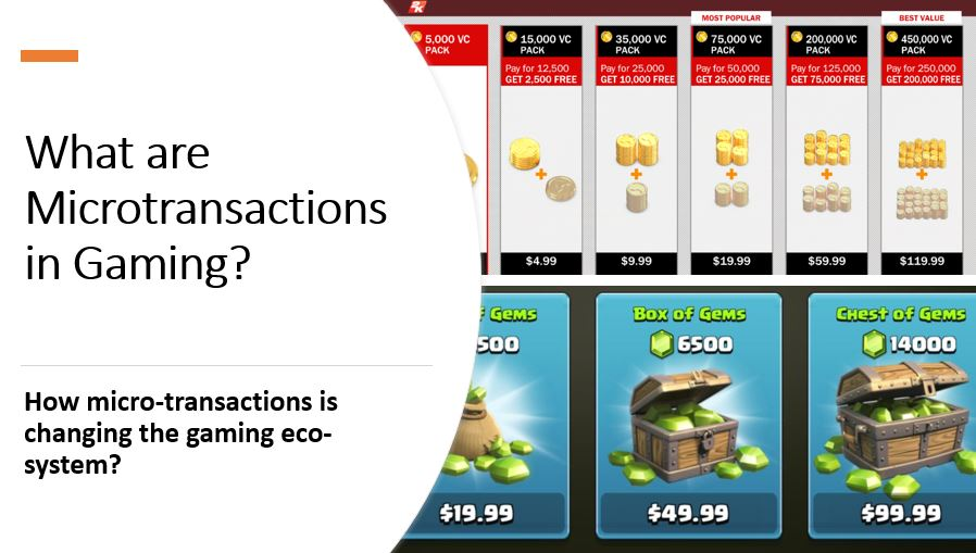 What are Microtransactions in games
