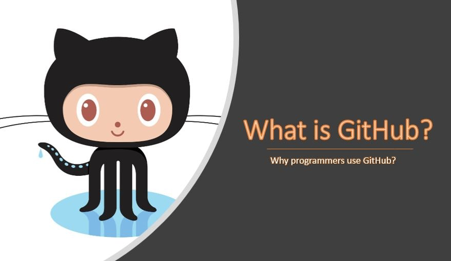 What is GitHub and Why programmers use GitHub.-min
