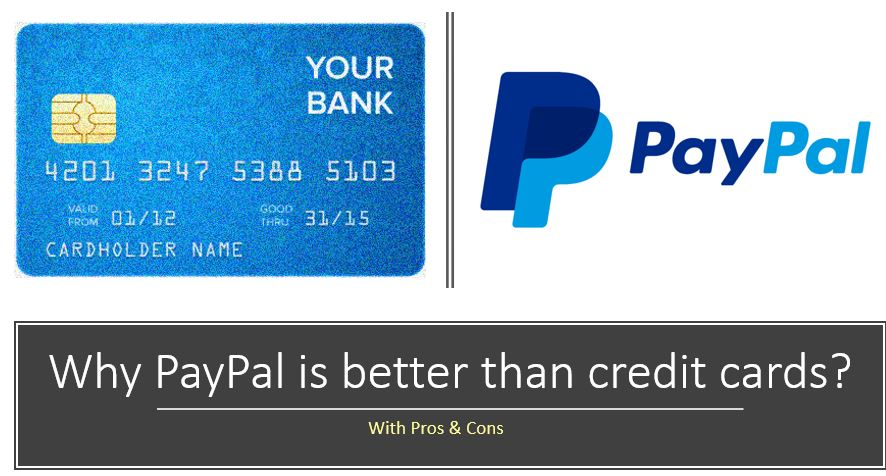 Why PayPal is better than credit cards
