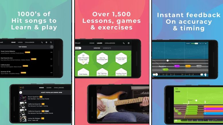 Yousician free Music Education App