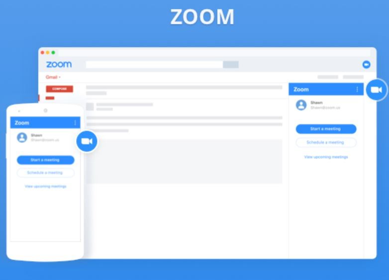 Zoom Extension for Gmail