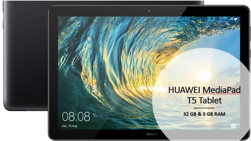 best HUAWEI MediaPad T5 Tablet for office work