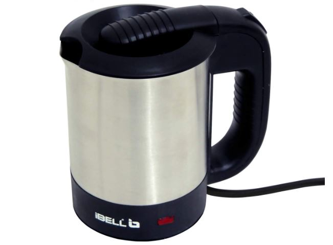 iBELL SEK105 Highly Polished Stainless Steel Electric Kettle 0.5 Ltrs, 950W