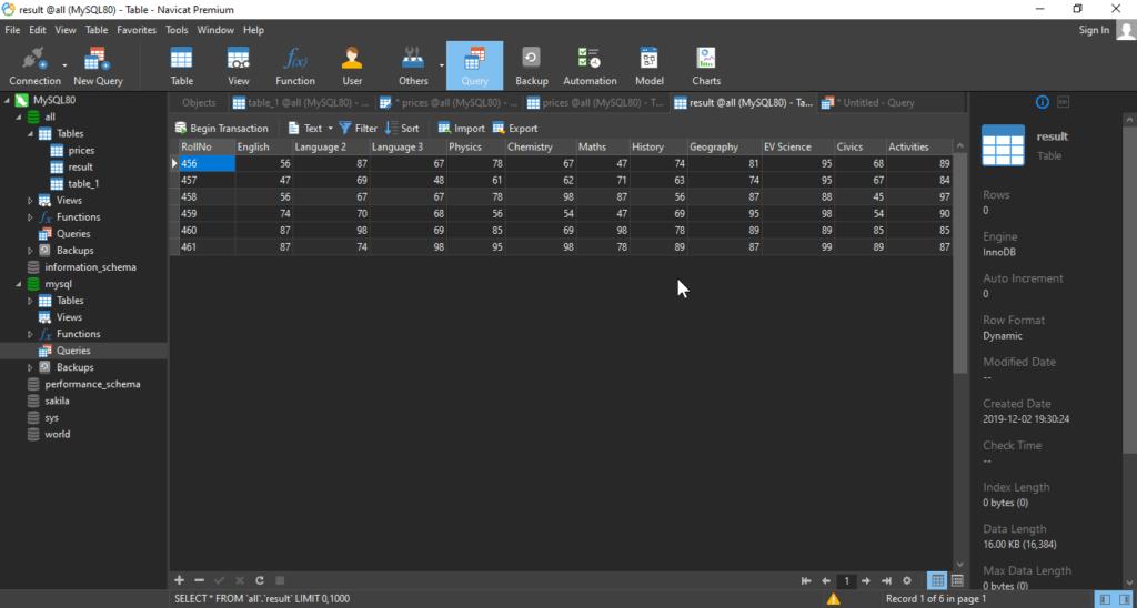 navicat_Graphially-entering-Data-query