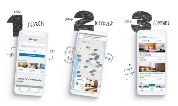 best travel planning app -trivago Compare hotel prices