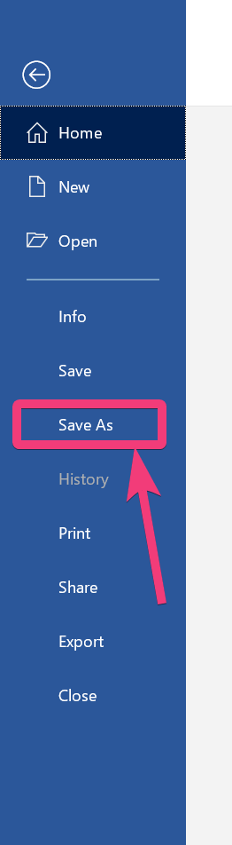 save the document that you have in PDF format