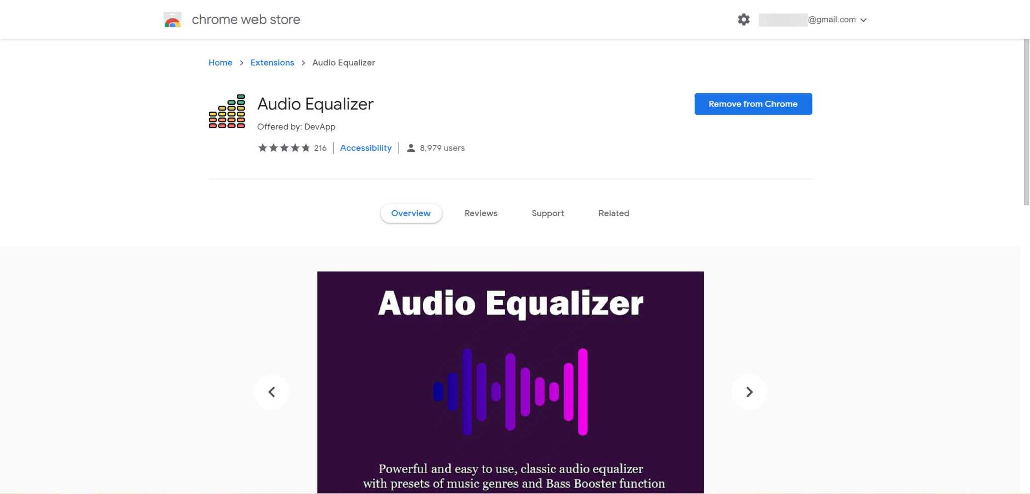 Finetune audio on Chrome 10