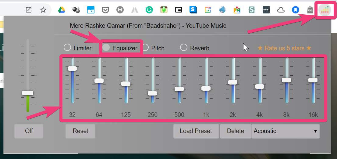 Finetune audio on Chrome 20