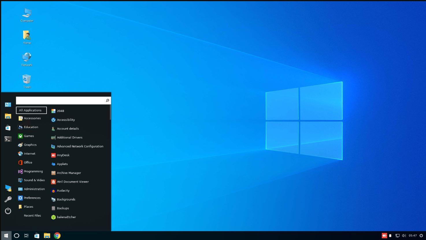 Linuxfx windows 10 alterantive