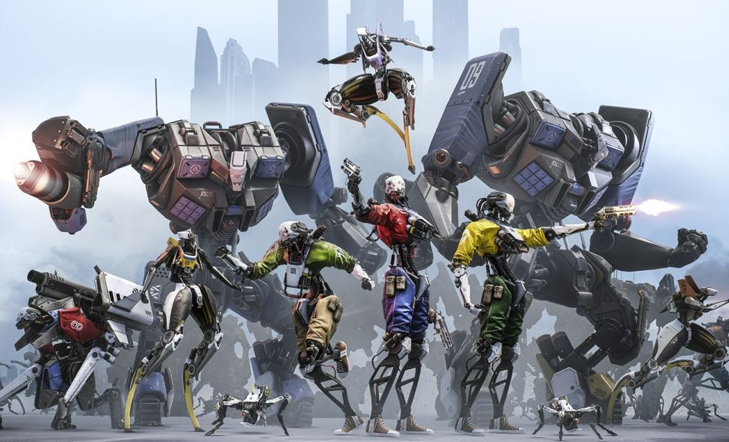 Robo Recall sci-fi game for VR headset