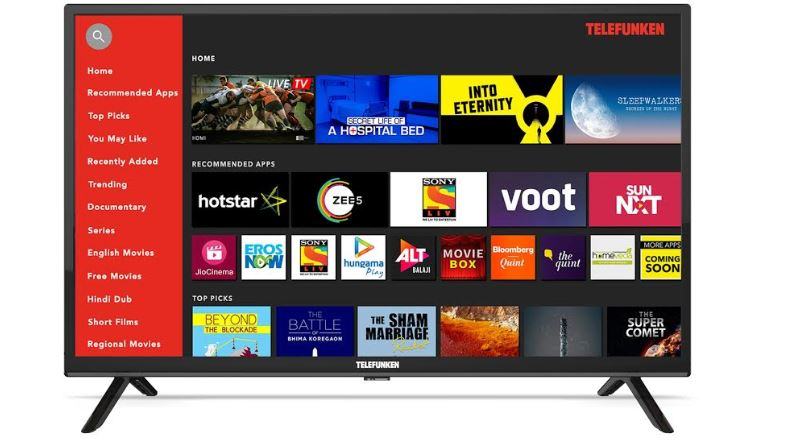 Telefunken launches 80cm (32) HD Ready Smart TV 'TFK32QS