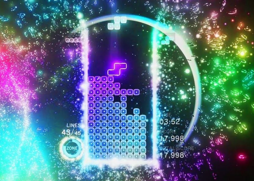 Tetris Effect puzzle game