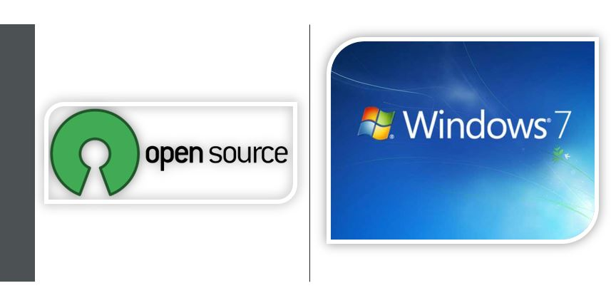 Windows 7 free and open source