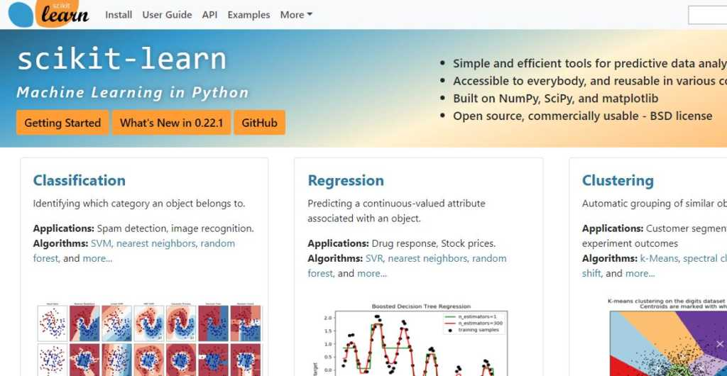scikit-learn-machine-learning-in-Python