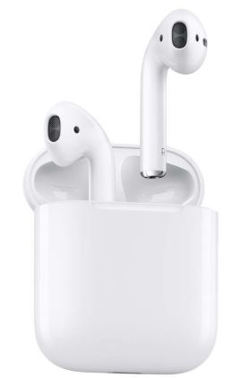 APPLE AirPods with charging case Bluetooth headset with mic