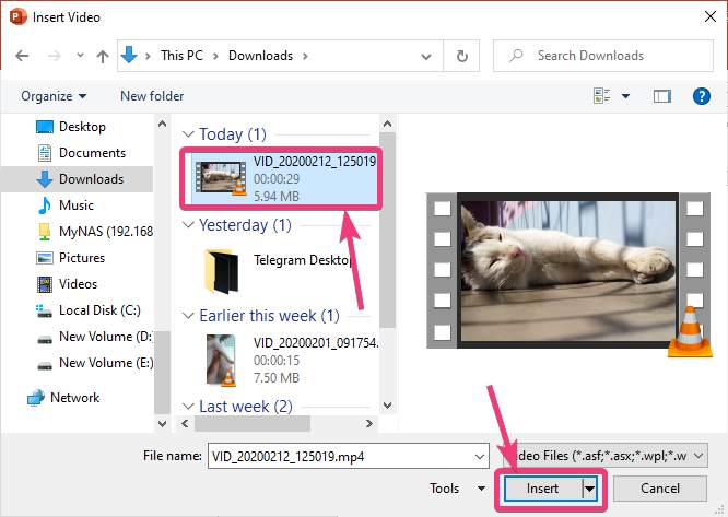 Add videos to presentations on PowerPoint 20