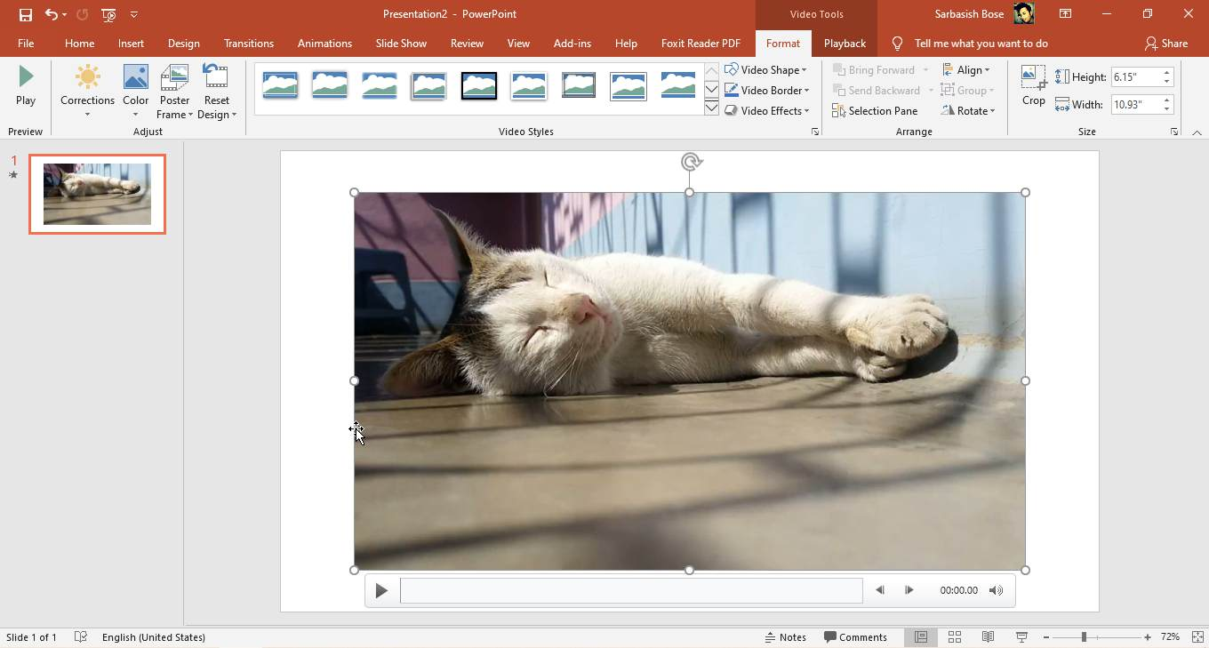 Add videos to presentations on PowerPoint 30