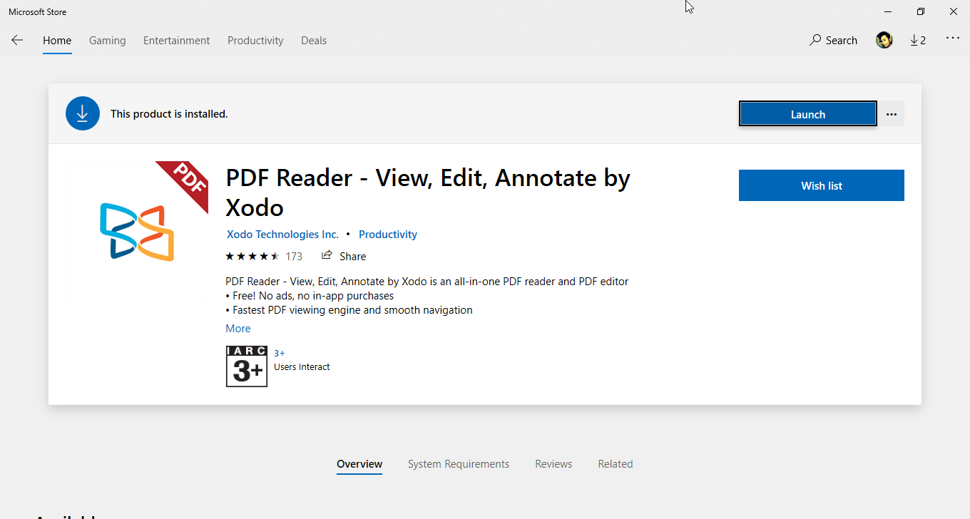 PDF Reader- View, edit, Annotate by Xodo