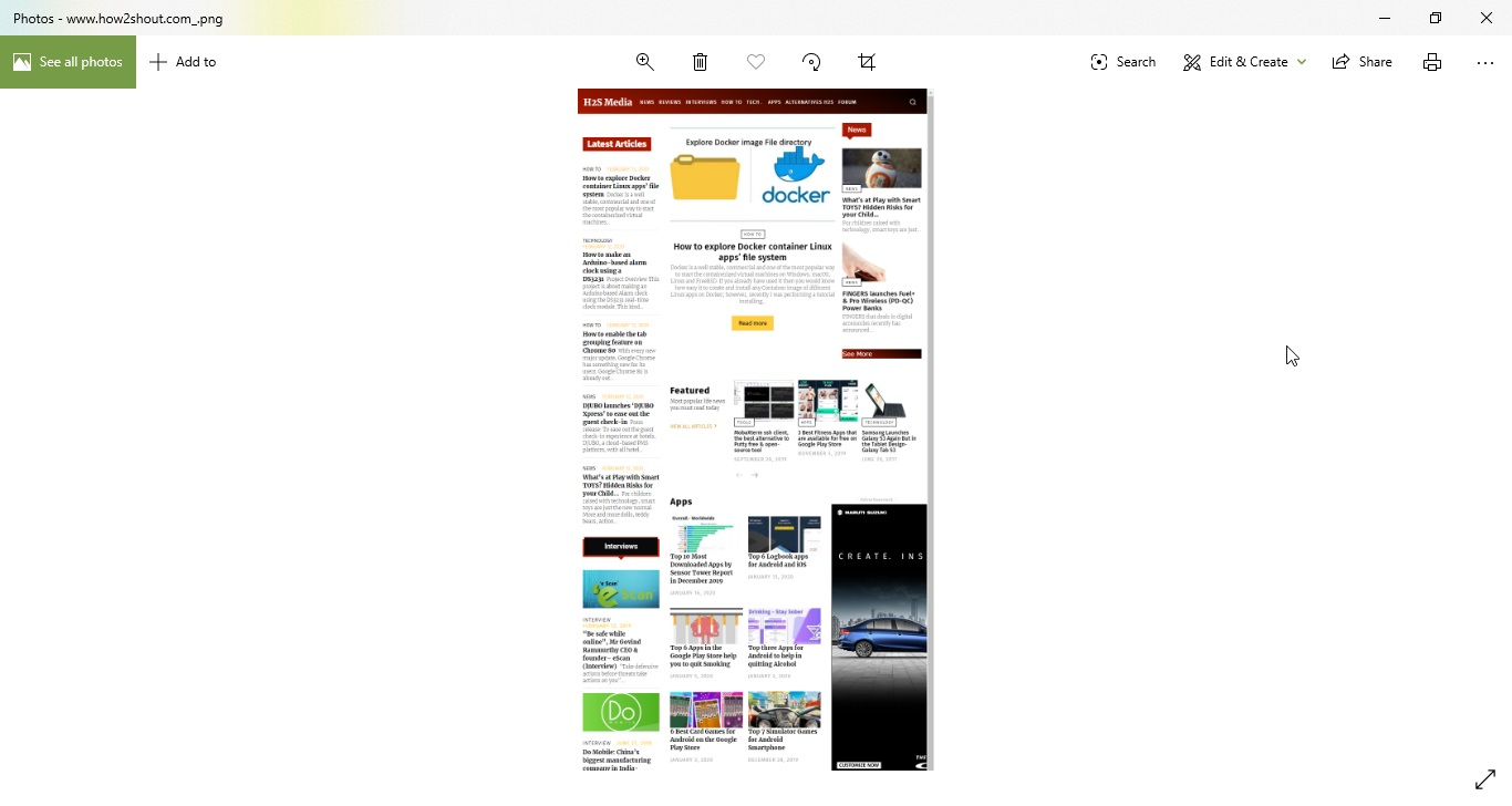 Chrome Website Screenshot