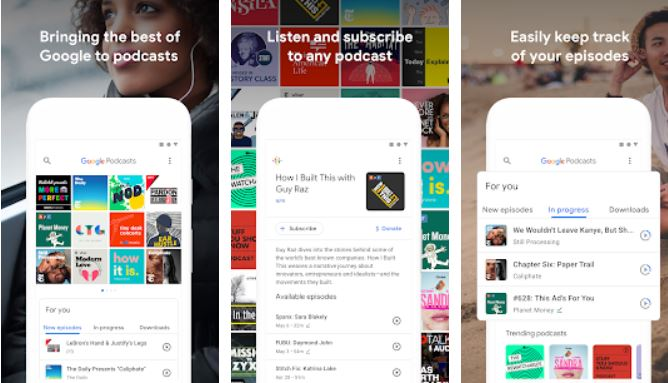Google Podcasts Discover free & trending podcasts