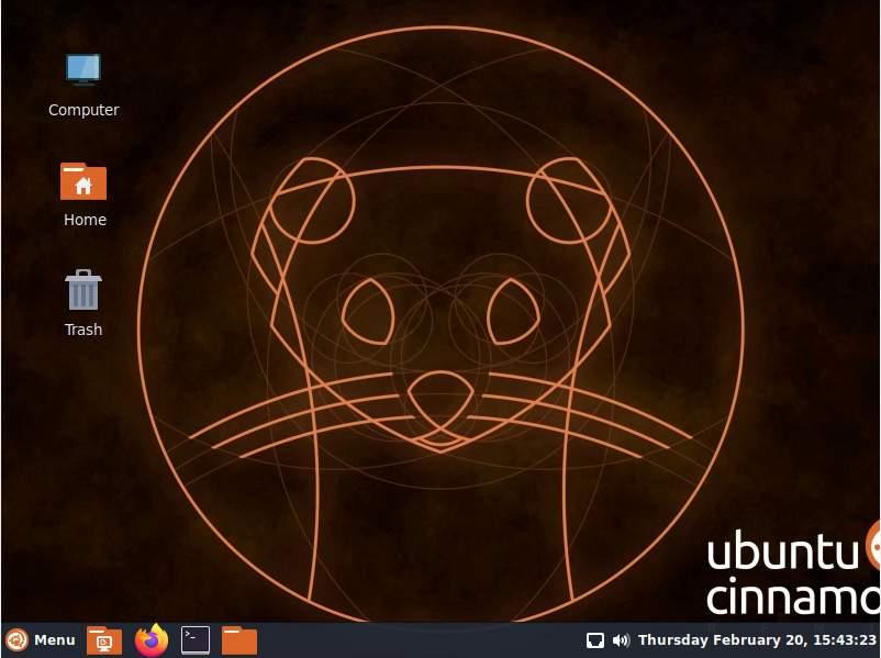 Installing Ubuntu Cinnamon Remix 1910 140